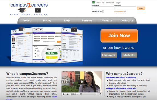 University Recruitment and Career Services