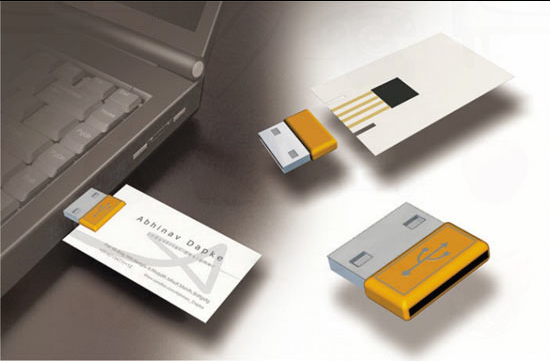 business card USB