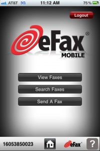 eFax iPhone App