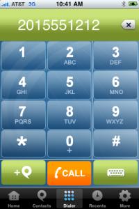 Phone.com iPhone App