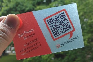 The dos and donts of business card design qr communiceert great looking transparent qr code business card colourmoves