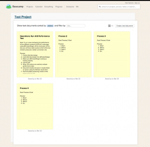 BasecampSampleProcessListPage