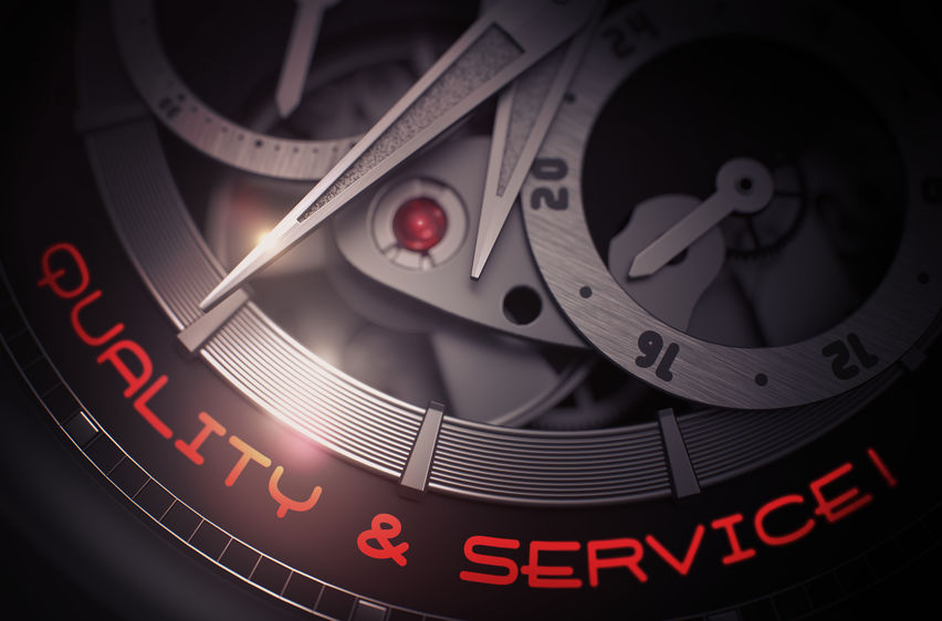 Quality and Service old clockwork